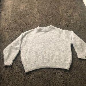 Fuzzy glitter sweater
